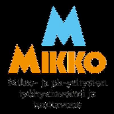 Logo: Mikko, mikro- ja pk-yritysten työhyvinvointi ja tuottavuus -projekti