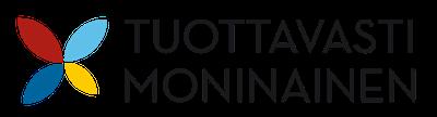 Logo: Tuottavasti moninainen -hanke