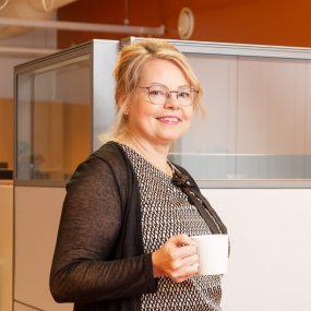 Valokuva: toimitusjohtaja Hannele Makkonen, HM-Tilipalvelut